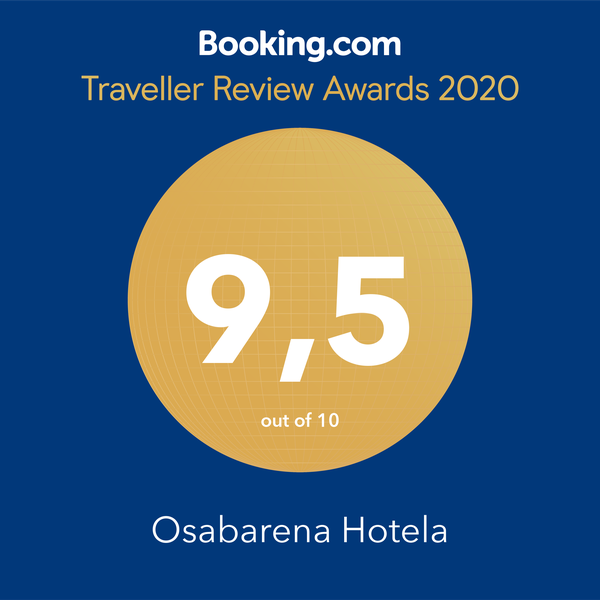 Osabarena Hotela, Booking Guest Reviews Awards